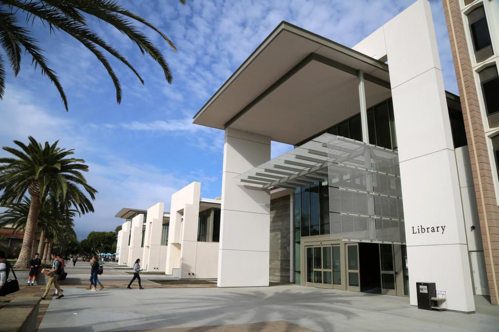 UCSB Library - Photographer: Terry Wimmer, Copyright Notice: UCSB Office of Public Affairs & Communications